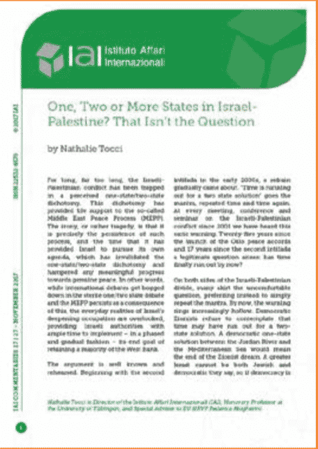 One, two or more states in Israel-Palestine? That isn't the question.jpg