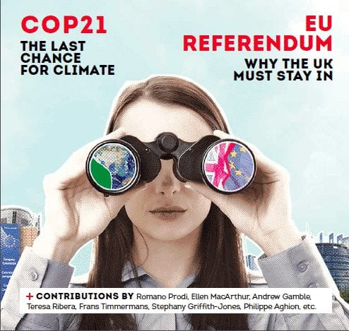 Climate and EU-UK referendum, appeal for leadership in Europe