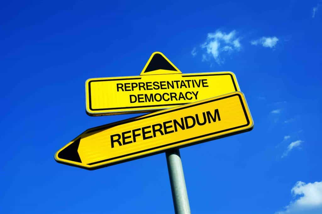 Direct democracy to empower parliamentarism and public discourse.jog