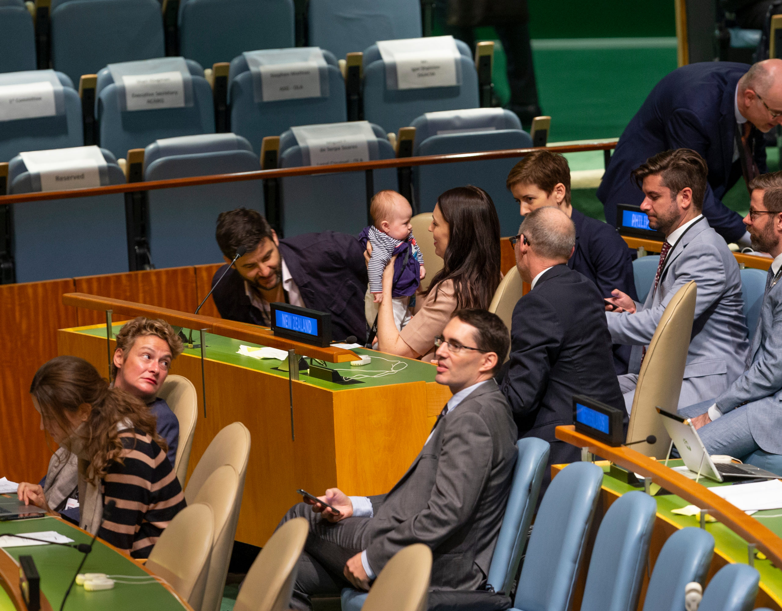 New Zealand stays together in a troubled world