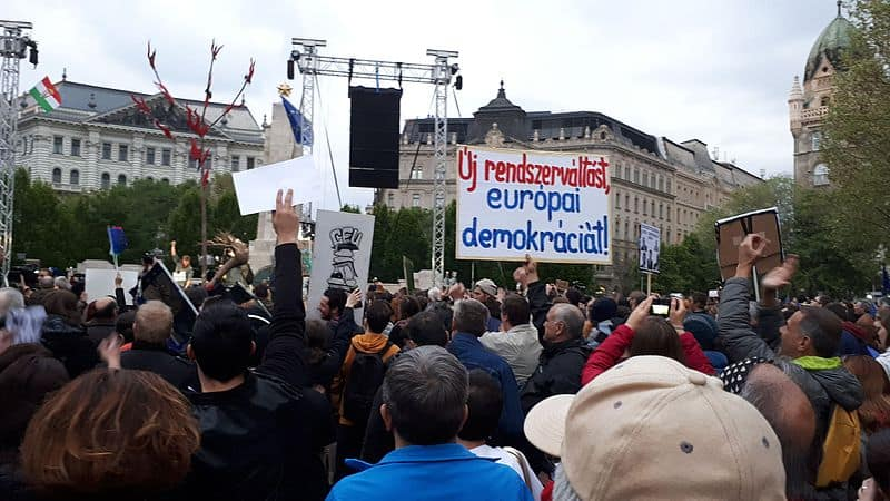 Hegemonic right and defeated left: lessons from Hungary's drift to authoritarianism