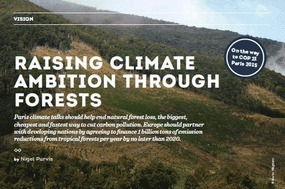 Raising Climate Ambition Through Forests