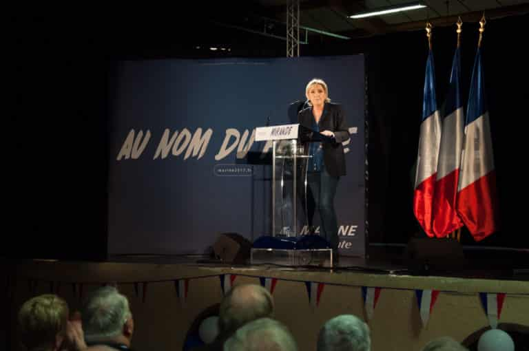 The project of Marine Le Pen will lead to benefits for the better off