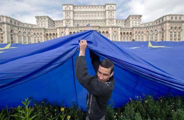 The social democratic party made romanians vote pro-european