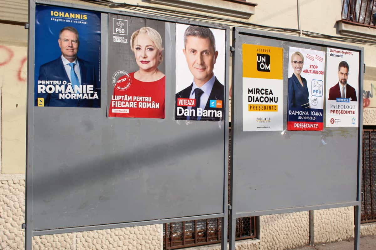 What is left after the Romanian presidential elections?
