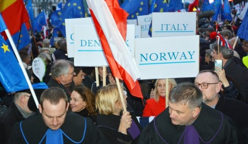 European solidarity – added value for the Polish judiciary independence