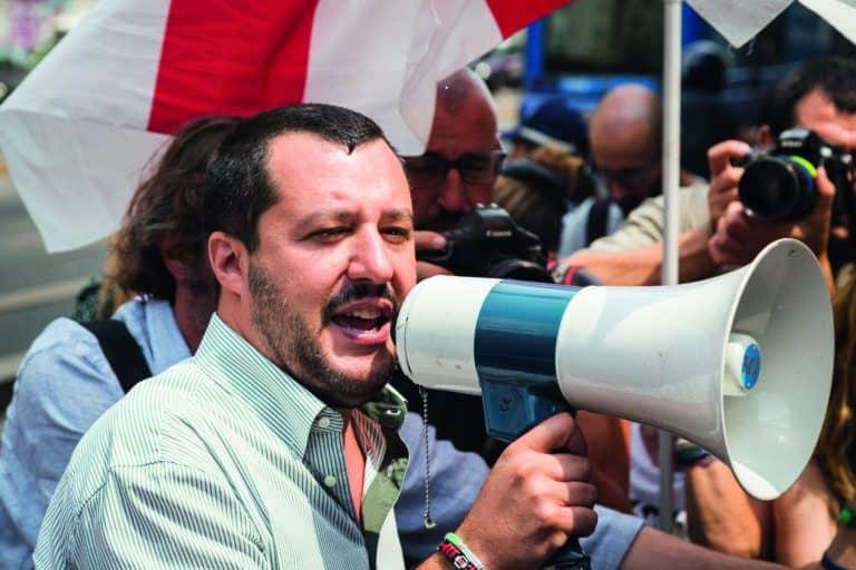 Matteo Salvini, the anti-immigration storyteller of Italian politics