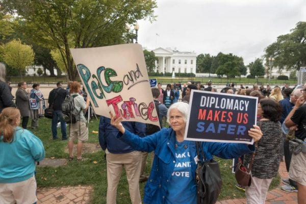 demonstration in USA